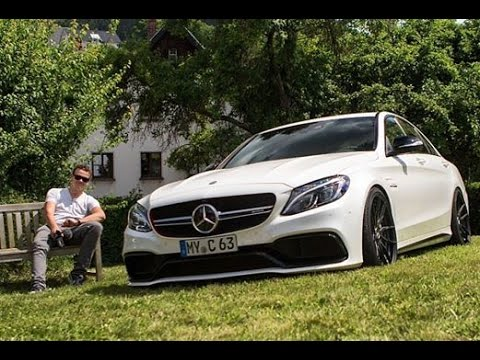 700HP RENNtech C63 AMG REVS!   Cars and Coffee Nurburgring 2016