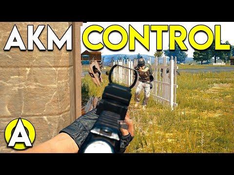 AKM CONTROL - PLAYERUNKNOWN'S BATTLEGROUNDS (PUBG)