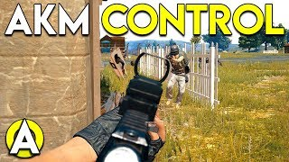 AKM CONTROL - PLAYERUNKNOWN'S BATTLEGROUNDS (PUBG)