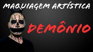 Demônio - Maquiagem Artística