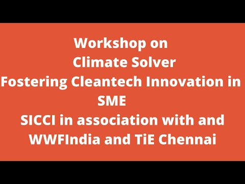 Workshop on Climate Solver Fostering Cleantech Innovation in SME