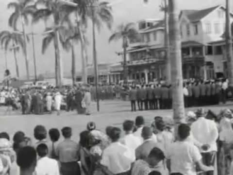 Polygoonjournaal: Nieuws uit Suriname - Emancipatiedag 1963