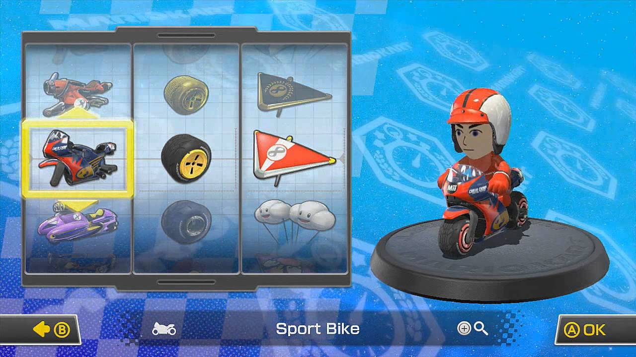 Mario Kart 8 Full Character Roster All Vehicles Hd Youtube