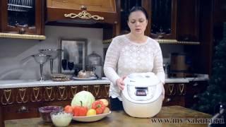 видео инструкция мультиварка скороварка Sakura SA-7758, 2 в 1,  рецепты для мультиварки