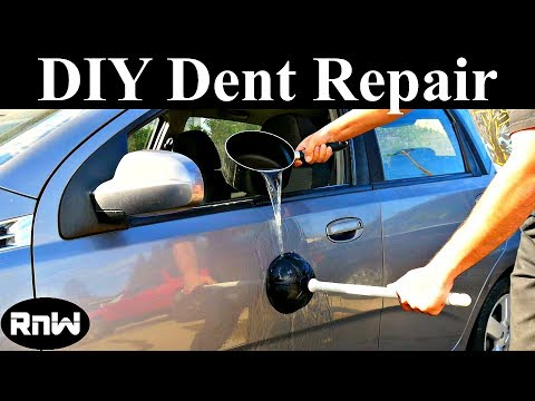 Using Boiling Water and a Plunger to Remove Car Dents  Does it Work?