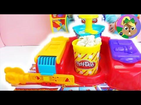 991814ac4b Pipoca feita de massinha! – Play-Doh Comidinhas de Cinema em casa Playset -  Demo