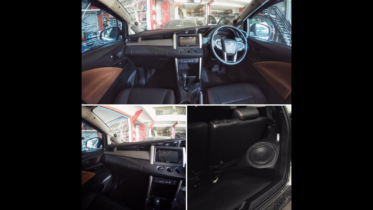 Modifikasi Audio Mobil Toyota All New Innova 2016 Sound Quality