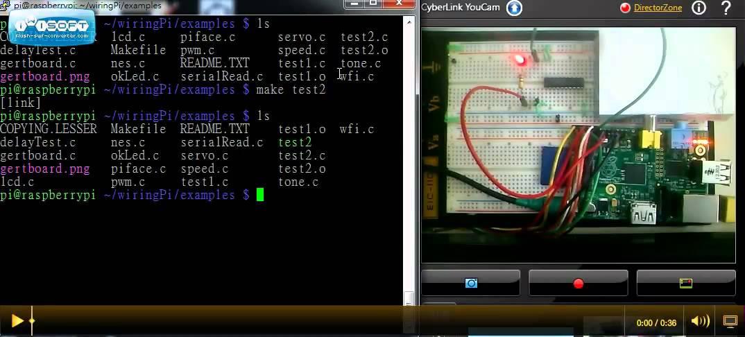 raspberry pi gpio control by wiringpi youtube rh youtube com Speeds Test Shoulder Speeds Test Ortho