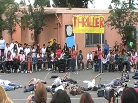 Kids tribute to Michael Jackson - THRILLER FOREVER!!! Sierra Vista Elementary