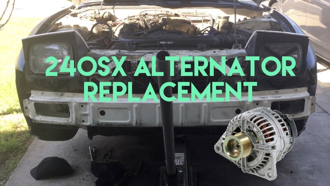 maxresdefault 240sx alternator replacement youtube