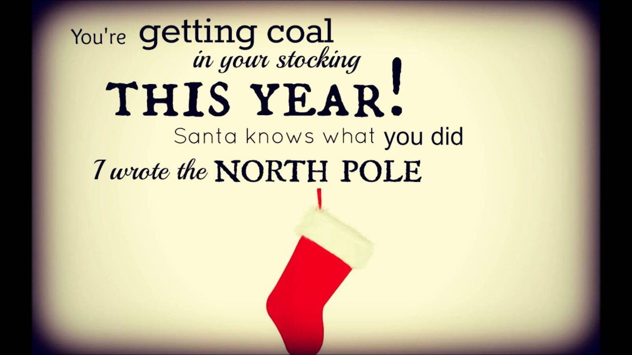 Coal In Your Stocking This Year - Tyler Barham (Lyric Video Contest ...