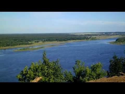 Природа летом на р.Кама  (Nature summer Kama river)