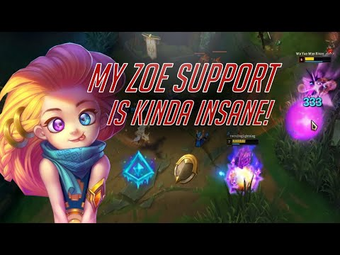 Zoe Support Viable In High Elo?!?!