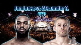 Jon Jones vs Alexander Gustafsson - UFC Fight Video Prediction