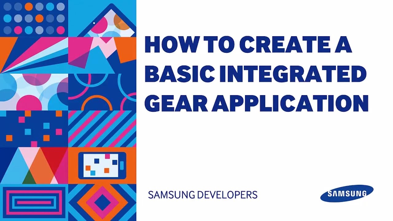 How to build a Basic Integrated Gear Application - CodeProject
