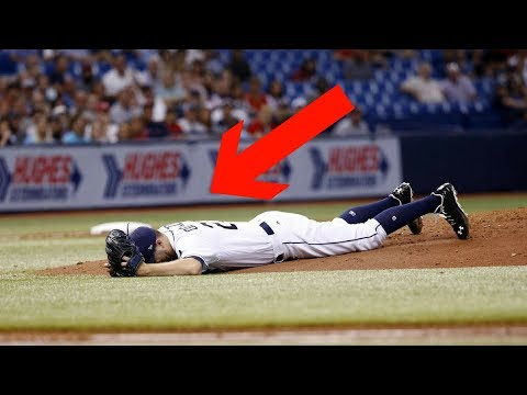 MLB Slipping Off the Mound (HD)