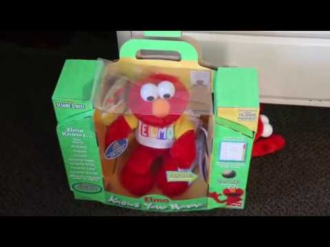 Elmo Knows Your Name And Peek-a-Boo Elmo DOUBLE DESTRUCTION