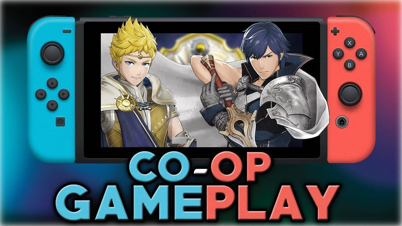 Fire Emblem Warriors Co Op Gameplay Nintendo Switch Youtube