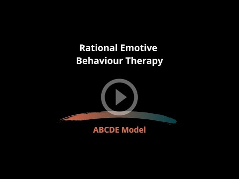 ABCDE Model REBT Animated