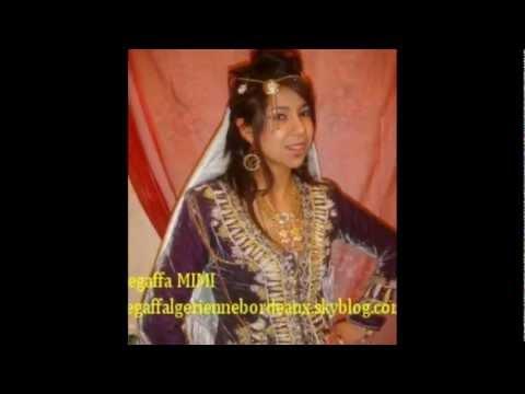 Mariage alg rien location de robe traditionnelle youtube for Don de robe de mariage militaire