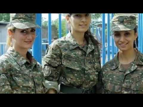 В Армении сформировали женский отряд для боев в Нагорном Карабахе