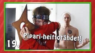 PIPARI-HEITTOTÄHDET! | Haastekalenteri 2017 Luukku 19