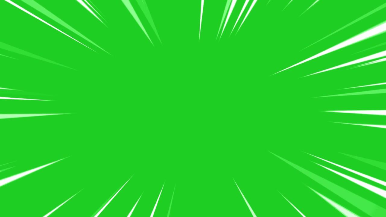 Anime Zoom Greenscreen