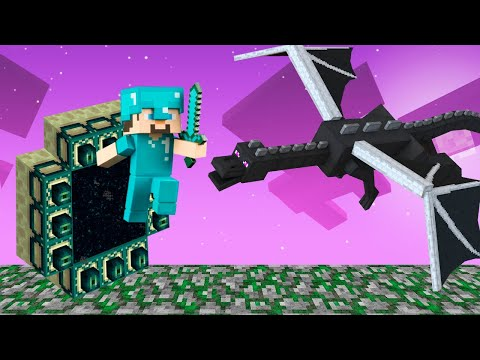 Майнкрафт видео - Портал в Эндер Мир! Как победить Дракона? – Прохождение игры Minecraft