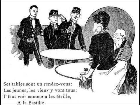 Aristide Bruant - A la Bastille (avec paroles)