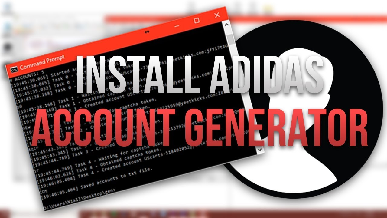 c827c1349a27 HOW TO INSTALL AND RUN AN ADIDAS ACCOUNT GENERATOR - YouTube