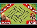 ✅Clash Of Clans: TH9 FARMING BASE 2019 | TOWN HALL 9 BASE - Refraction + REPLAYS 2019