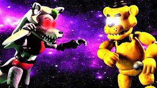 FNaF Roxanne Wolf vs Golden Freddy