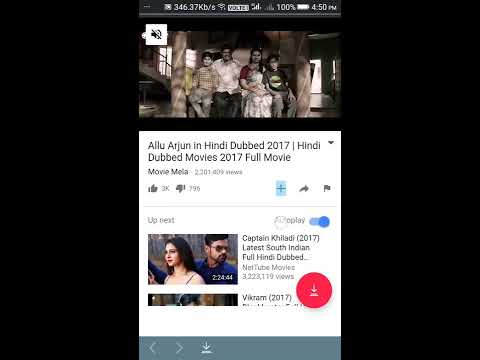 Using Tubemate to Download Youtube videos in Android