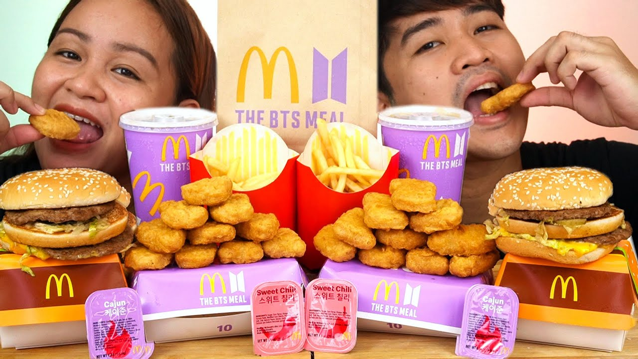 The BTS Meal Mukbang | McDonald's Philippines