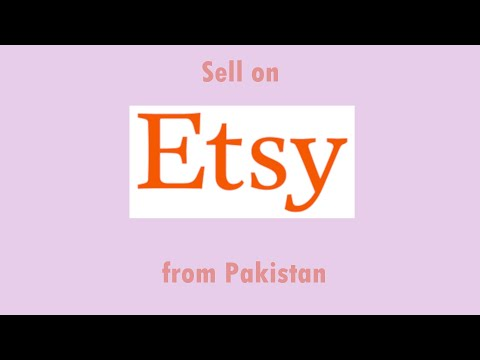 Etsy How To Open And Run Shop From Pakistan Part 2 اردو
