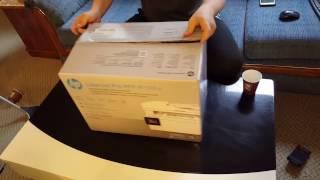 HP LaserJet Pro MFP M130fw UNBOXING