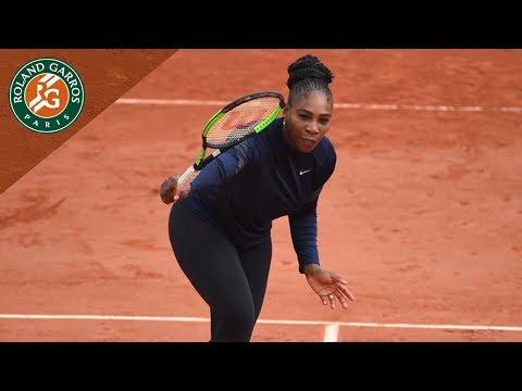 Serena Williams - Preview Round 1 I Roland-Garros 2018