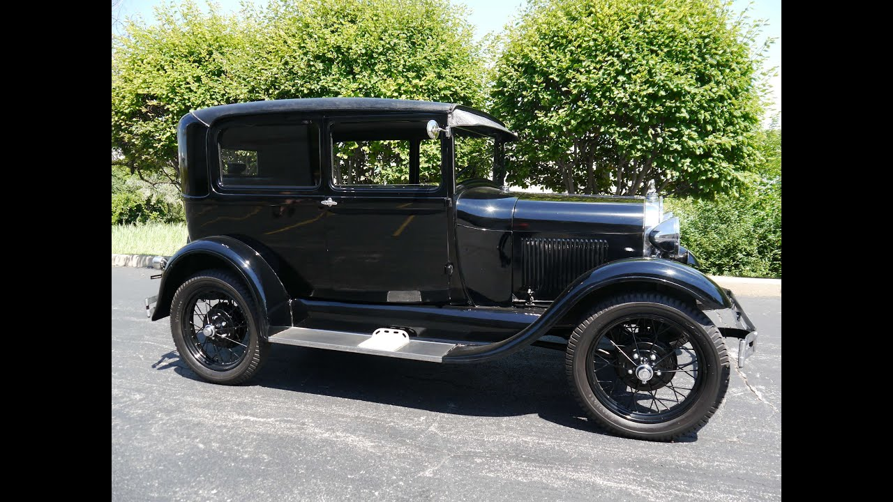 1929 Ford Model A Tudor ***SOLD! SOLD! SOLD!*** - YouTube