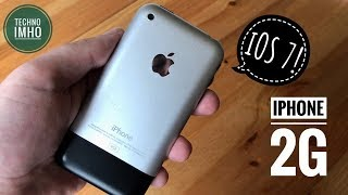 iPhone 2G на iOS 7! Актуальнось в 2018 году!