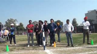 400 METERS (GIRLS  ) ANNUAL SPORTS MEET  (2018)--D A V COLLEGE AMRITSAR