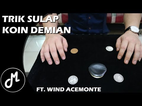 Trik Sulap Koin Demian Ft. Wind Acemonte