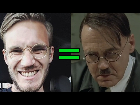 Thumbnail: Hitler Reacts to the Pewdiepie Controversy