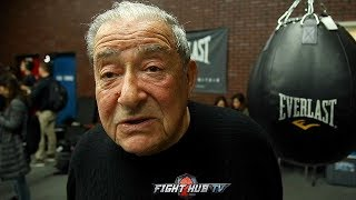 BOB ARUM ON MANNY PACQUIAO LEAVING TOP RANK