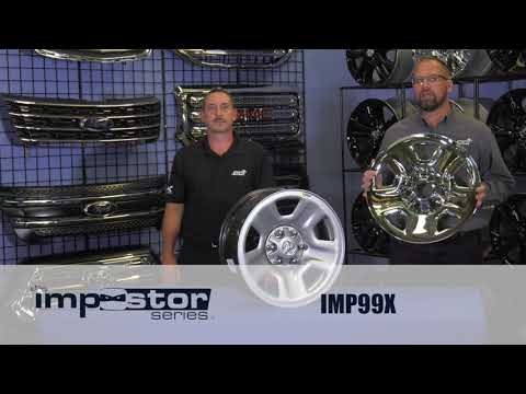INSTALLATION: IMP99X Impostor Series Wheel Skins for Ram 1500