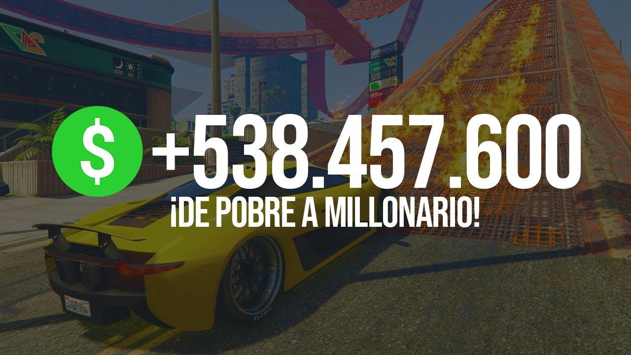 """Consigue 540.000.000$ y NIVEL 150+ en GTA 5 Online """"DINERO y NIVEL"""" CHETANDO CUENTAS (PS4, XBOX, PC)"""