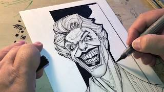 How To Draw The Joker Part 2