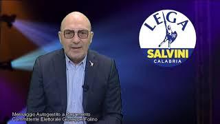 Elezioni Regionali 2020 - Antonio Chiefalo - Lega Salvini Calabria