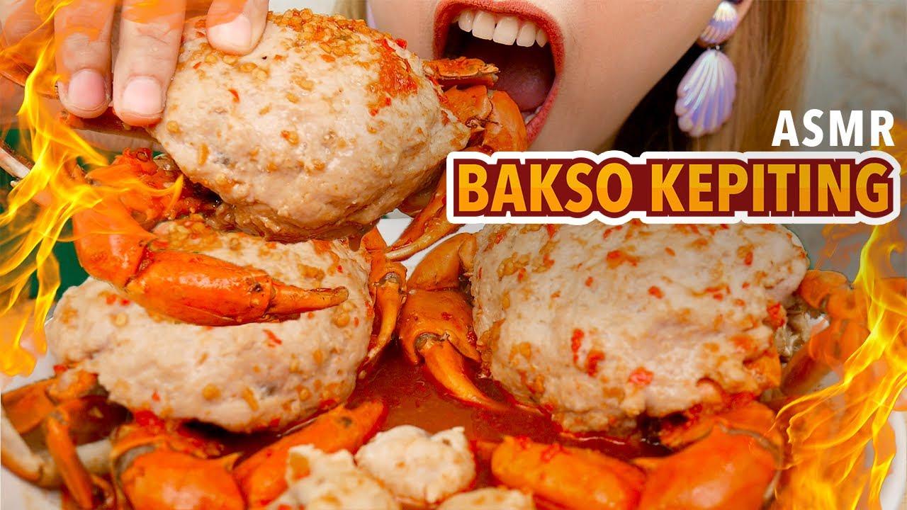 ASMR BAKSO KEPITING PEDESNYA GAW4T BANGET!! | ASMR Indonesia