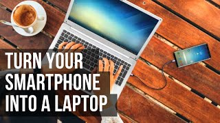 Turn your Smartphone into a Laptop with the New Sharebook