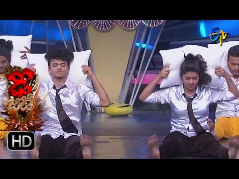 Sanketh and Priyanka Performance | Dhee Jodi | 15th February 2017| ETV Telugu